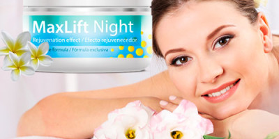 Max lift night: crema rassodante viso